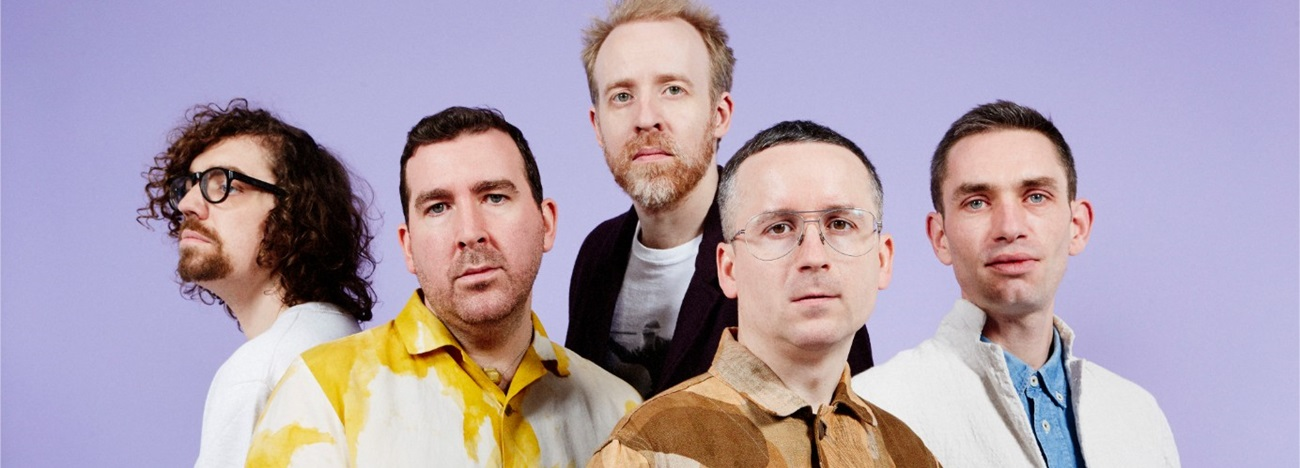 Hot Chip Concert at Les Docks, Lausanne on TH 05.12.2019